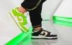 "Supreme x Nike SB Dunk Low"" Black""和"" Mean Green""近距离接触"