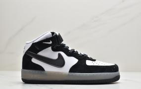 """耐克Nike Air Force 1 high """"NBA"""" PACK 草绿尾高 空军一号高帮百搭休闲运动板鞋"""