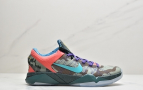 耐克Nike Zoom Kobe VII visibility Cloak 科比7代复刻实战运动低帮文化篮球鞋