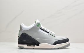 "AirJordan 3 ""Tinker ""AJ3复古文化篮球鞋ID:ZJD025-QDJ"