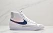 """耐克Nike Blazer Mid '1977 Vintage""""Whitek Reverse Logo""""经典开拓者高帮百搭休闲运动板鞋"""