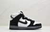 Slam Jam x Nike Dunk High 联名系列磨砂皮革高帮休闲滑板鞋