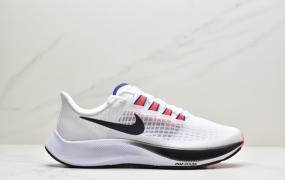"""耐克Nike Air ZM Pegasus 37 登月37代v2""""彩虹""""透气缓震疾速跑鞋"""