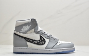 Dior x Air Jordan 1 Low 迪奥 aj1高帮篮球鞋ID:ESD531-QDK