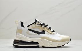 耐克Nike Air Max 270 React 气垫 Air Max 270后置气垫 网纱透气材质镂空男女跑步鞋情侣休闲鞋运动男鞋女鞋