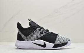 耐克Nike PG 3 EP保罗乔治三代精英联赛配色低帮实战篮球鞋