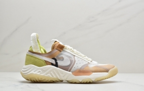 "Jordan Delta React SP""Vachetta Tan""乔丹代尔塔解构瑞亚泡棉系列机能运动慢跑鞋"