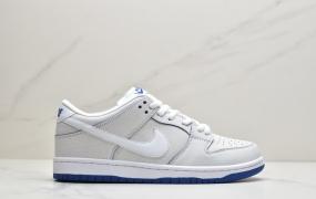 耐克Nike SB DUNK LOW 白兰 扣扣乐 爆裂纹 冰蓝青花瓷aj1低帮板鞋
