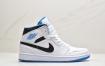 """耐克NIKE Air Jordan 1 Retro Mid """"Reverse Black Toe"""" TL BMXD AJ1乔丹一代中帮经典复古篮球鞋"""