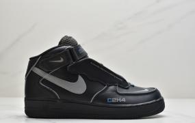 耐克Nike Air Force 1 MID 07空军一号拼接中帮百搭休闲运动板鞋