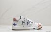 迪奥 Dior & Kenny Scharf 联名推出情侣赠礼 B27 Oblique Galaxy 涂鸦低帮运动鞋