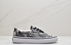 Vans Authentic x Moma 联名款 爱德华蒙克联名款低帮休闲板鞋