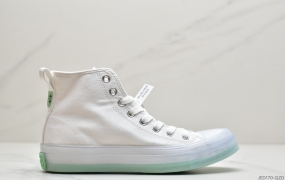 匡威Converse Chuck Taylor All Star Translucent High Midsole 1970果冻色彩底系列百搭板鞋