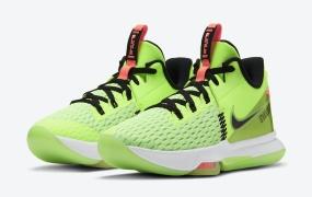 "Nike LeBron Witness 5发布""Grinch""配色"