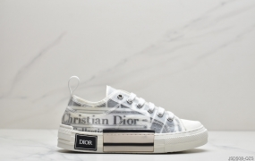 迪奥Dior B23 Oblique High Top Sneakers透明印花高筒板鞋