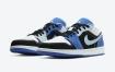 全新Air Jordan 1 Low黑色和蓝色调