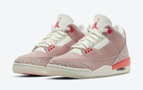 "Air Jordan 3"" Rust Pink""的官方照片"