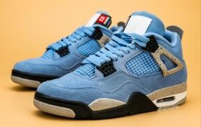 "Air Jordan 4""大学蓝""之美照"