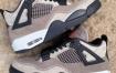 """Air Jordan 4"""" Taupe Haze""""去除了裂纹层"""