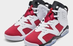 "Air Jordan 6"" Carmine""推出童鞋版本"