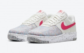 "Nike Air Force 1 Crater发布"" Siren Red"""