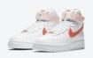 "Nike Air Force 1 High"" Orange Pearl""女式发布"