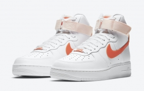 "Nike Air Force 1 High"" Orange Pearl""女式发布"