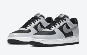 """Nike Air Force 1 B"""" 3M Snake""""的官方照片"""