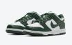 """Nike Dunk Low"""" Spartan Green""""的官方照片"""