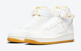 "耐克Nike Air Force 1 High "" Laser Orange""女鞋配色发布"