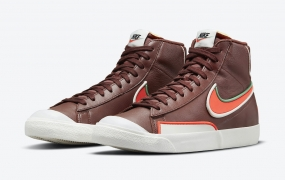 "Nike Blazer Mid '77 Infinite Surfaces在"" Dark Team Red""中"