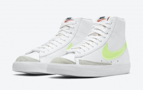 Nike Blazer Mid配Neon Green透明耐克