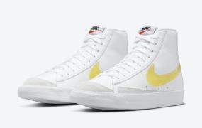 Nike Blazer Mid配黄色半透明耐克