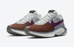Nike D / MS / X Waffle表面紫色和光子灰色