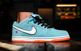 "Nike SB Dunk Low"" Gulf""的外观如何"