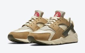 "Stussy x Nike Air Huarache"" Desert Oak""发布日期"