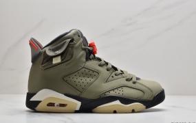 乔丹Air Jordan 6 x Aleali May AJ6乔6 脏粉 女神粉AJ联名款 篮球鞋