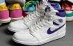 """近赏Air Jordan 1 High OG"""" Court Purple"""""""