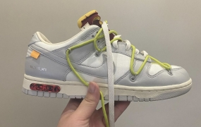 "抢先看耐克发布的Off-White x Nike Dunk Low"" 08 of 50"""
