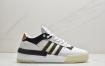 """阿迪达斯Adidas Originals Rivalry RM LOW""""Tricolor""""中底爆米花百搭低帮复古休闲运动休闲球鞋"""