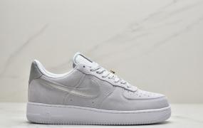"耐克Nike Air Force 1 Low 空军一号 ""白红勾金标"""