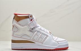 阿迪达斯Adidas Forum Mid X IVY Park 碧昂斯联名 街头复古滑板鞋