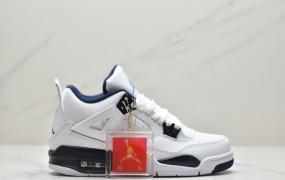 乔丹Air Jordan 4 Columbia AJ4 哥伦比亚 白蓝 乔4男女实战篮球鞋