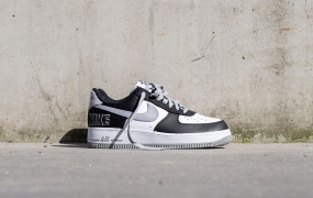 Nike Air Force 1 LV8 EMB出现黑色和银色