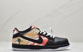 """耐克Nike SB Dunk Low """"Raygun""""低帮系列休闲气垫板鞋""""外星人刺绣"""""""