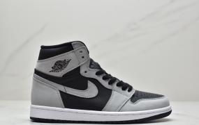 """乔丹 Air Jordan 1 High OG """"影子 2.0""""中帮文化篮球鞋"""