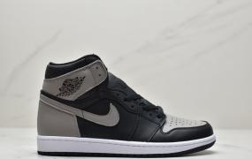 """乔丹/Air Jordan 1 Retro High OG """"Shadow"""" 影子灰 AJ1 乔1 高帮复古文化百搭休闲运动篮球鞋"""