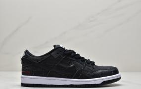 耐克NIKE SB DUNK LOW X WASTED YOUTH扣篮系列复古低帮休闲运动滑板板鞋