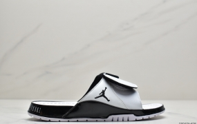 乔丹Air Jordan Hydro 11 Retro Concord 联名拖鞋 AJ11拖鞋