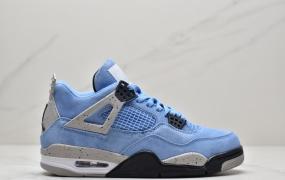 乔丹 Air Jordan4 University Blue AJ4 乔丹4代大学蓝中帮男女篮球鞋